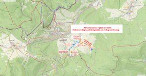 Mapa KM patek nedele